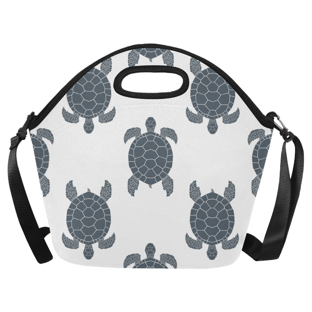 c24eb3bca0a1 Amazon.com: InterestPrint Large Lunch Bags Sea Turtles Lunch Bag ...