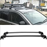 2011 2016 Jeep Compass OE Style Roof Rack Cross Bar Crossbar Black ABS  Aluminum