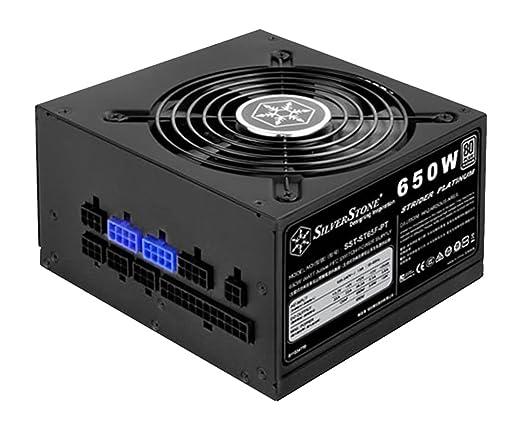 【送料無料】 SST-ST75F-PT (80PLUS Platinum/750W/フルモジュラー方式) Platinumシリーズ SilverStoneStrider