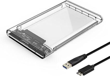 YSSHUI 2.5 Disco duro externo Disco Estuche SSD / HDD Caddy USB ...