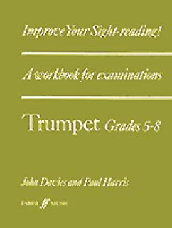 Sheet Music & Song Books Contemporary Trinity Trumpet Sound At Sight Grades 1-8*