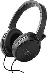 Edifier H840 Audiophile Over-The-Ear Headphones - Hi-Fi Over-Ear Noise-Isolating Audiophile Closed Monitor Stereo Headphone - Black