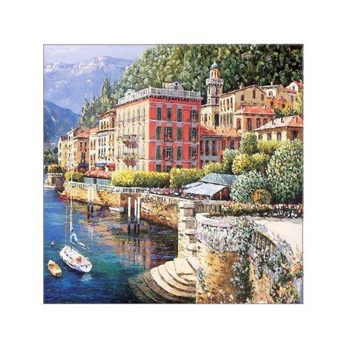 creative-modern-art-rich-retro-color-lake-como-italy-seaside-town-watercolor-painting-canvas-print-w