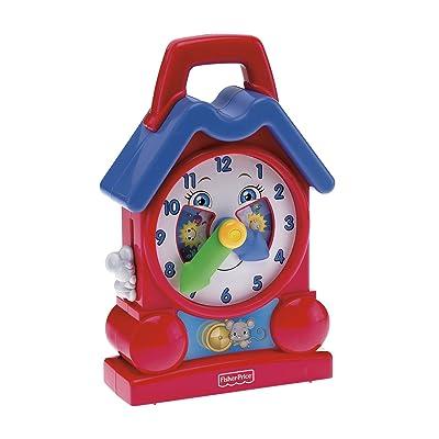 Fisher Price Bright Beginnings Musical Teaching Clock: Toys & Games