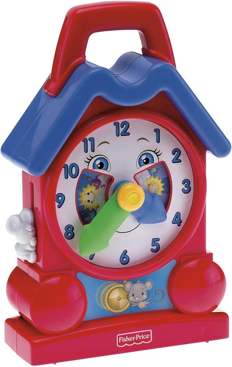 B000TUK36W Fisher Price Bright Beginnings Musical Teaching Clock 61zIGBYggcL.SL1500_