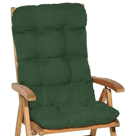 Cuscini Per Sedie A Sdraio.Beautissu Cuscino Per Sedia A Sdraio Flair Hl 120x50x8cm Extra Comfort Per Sedie Reclinabili Spiaggine E Poltrone Verdone