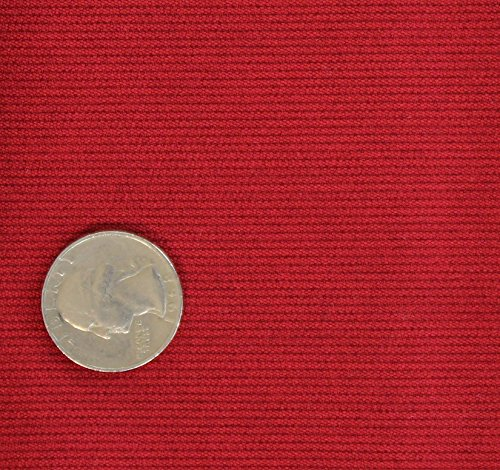 (2 Yards Bolt of Stretch 21 wale Corduroy Suitig Fabric_RED)