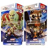 Disney Infinity 2.0 - Marvel Super Heroes - Drax and Rocket Raccoon Bundle (2-Pack)