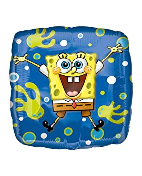 Horror-Shop Bob Esponja Foil Balloon: Amazon.es: Juguetes y ...