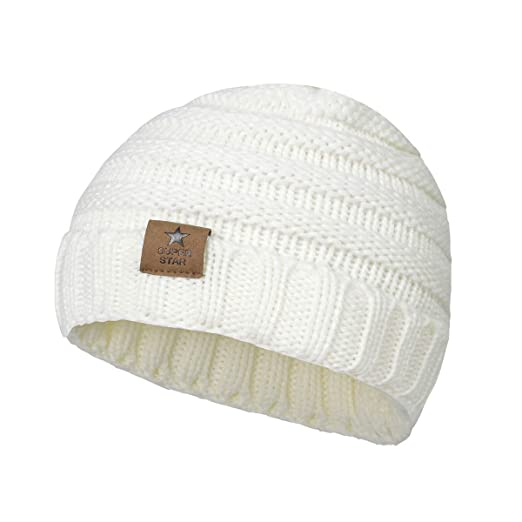 Amazon.com  Zando Baby Winter Hats Warm Knitted Cute Infant Toddler ... 822028968ce