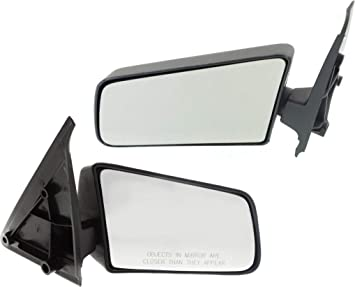 New Driver//Left Side Manual Non-Heated Door Mirror for Chevrolet Blazer//S10