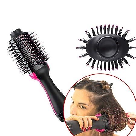 Secador de cabello Rizador automático Secador de cabello Cepillo Alisador de cabello Entrada 220-240V Dispositivo de secado del cabello Uso húmedo y seco de ...
