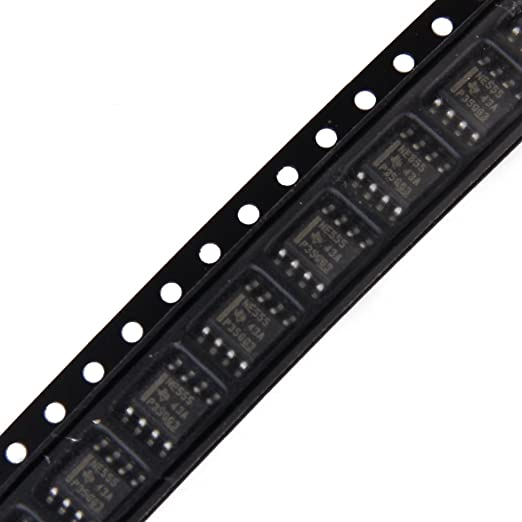 10pcs SMD NE555 555 Timer IC Module SOP8 Integrated Circuit Chips