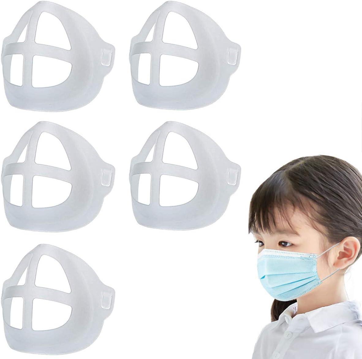 Soporte Reutilizable para la protección del lápiz Labial de la máscara Aumente el Espacio de respiración Ayuda a Respirar Suavemente Lavable