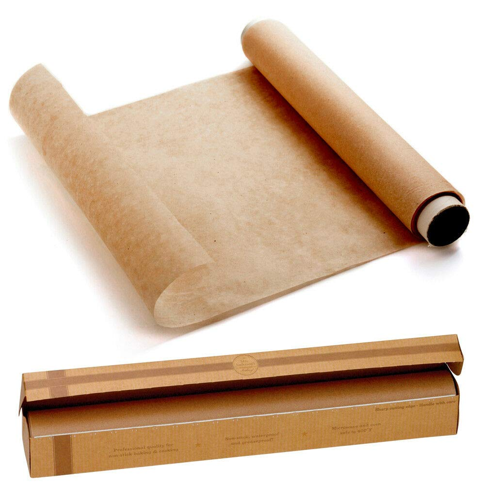 Roll Parchment Paper Nonstick Baking Pan Liner Oven Cooking Pizza Bread 15''x40Ft