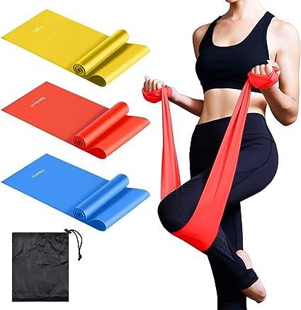 5x resistance belt circulation set exercise durable sports fitness yoga latex