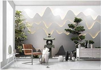 Foto Mural Papel Pintado 400x280 cm Fotomurales Sala Living Oficina Dormitorio Decoración de Pared Murales moderna Fotográfico Paisaje Del Jardín Zen 3D: Amazon.es: Bricolaje y herramientas