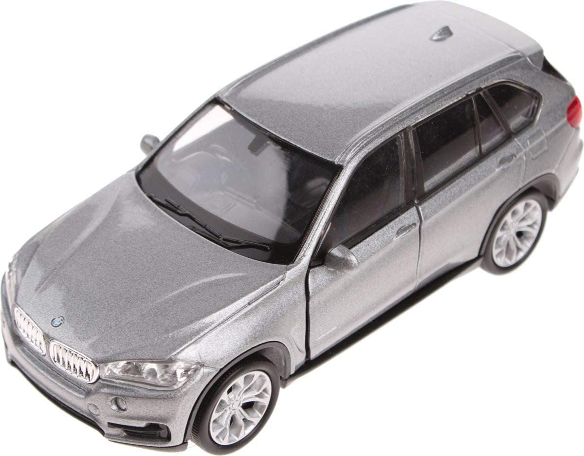 Welly scale model BMW X5 1:34 diecast silver 11 cm