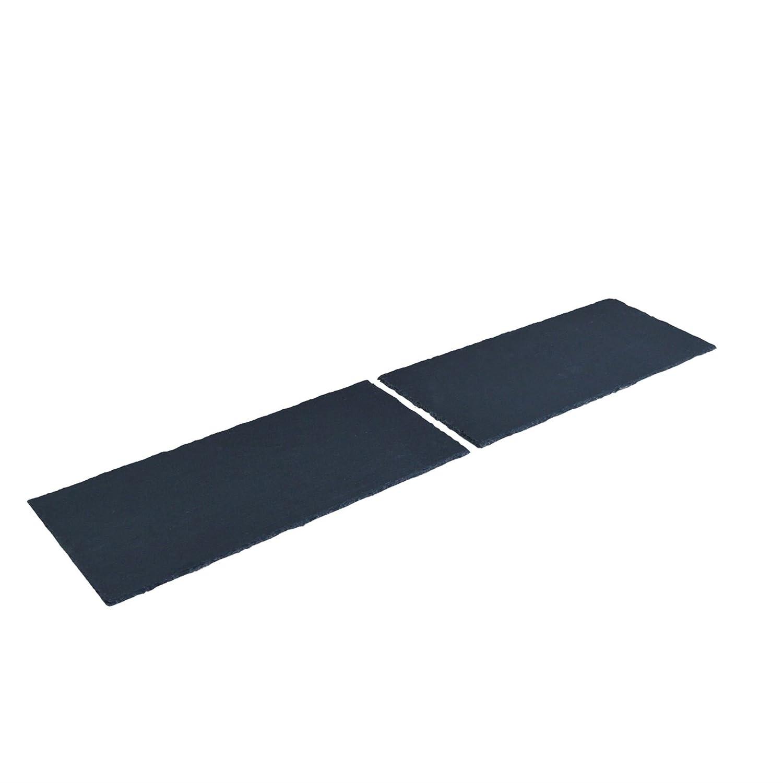 Argon Tableware Large Natural Slate Modular Table Runner - 100cm