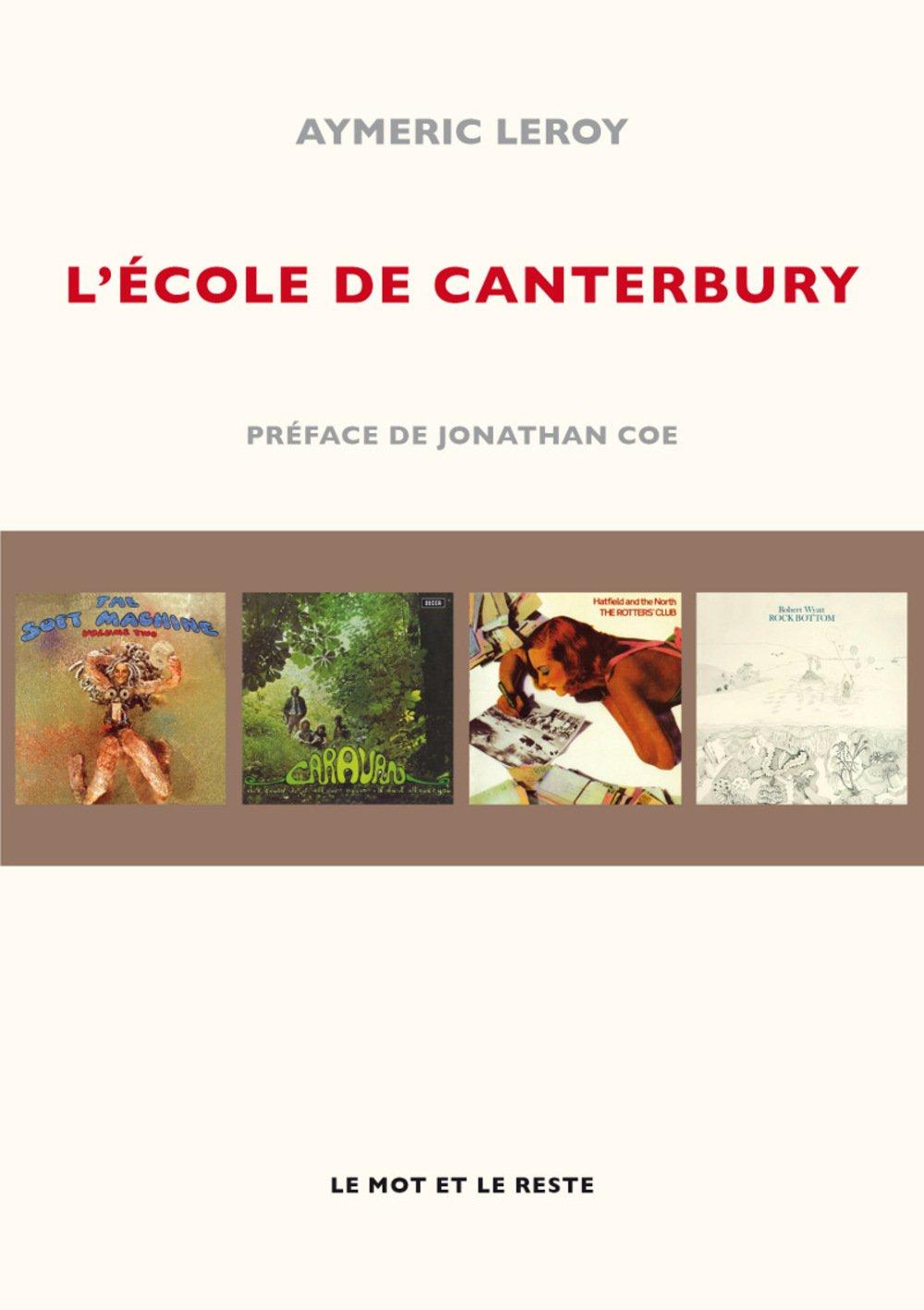 L'�cole De Canterbury: Amazon: Aymeric Leroy, Jonathan Coe:  9782360541973: Books