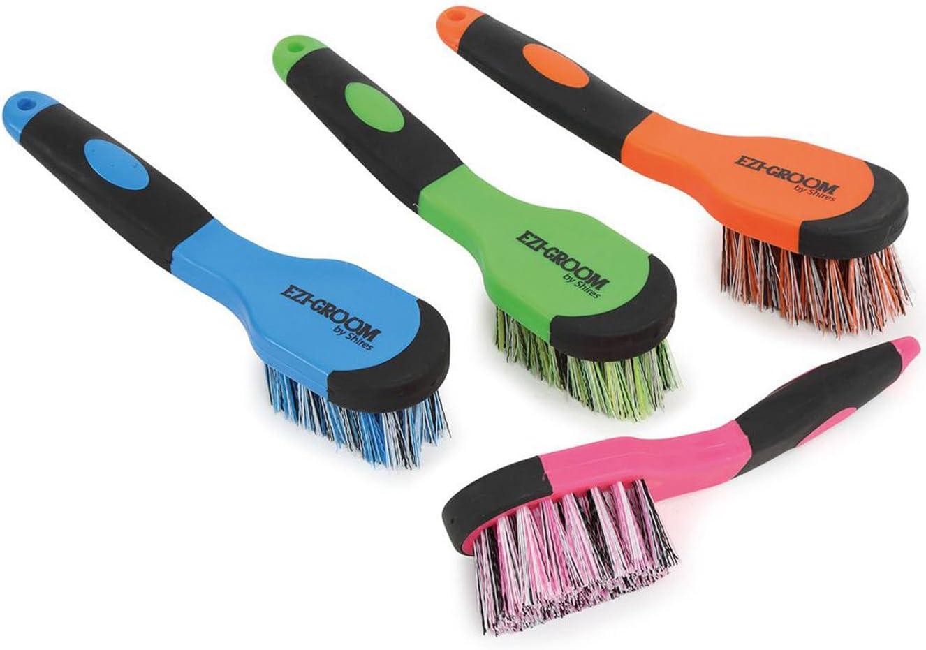 Shires Ezi-Groom Grip Bucket Brush 1379