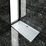 Rectangular 1700x800x40mm Shower Tray for Shower Enclosure Cubicle+Free Waste Trap NEXT DAY DELIVERY by sunny showers,ultra