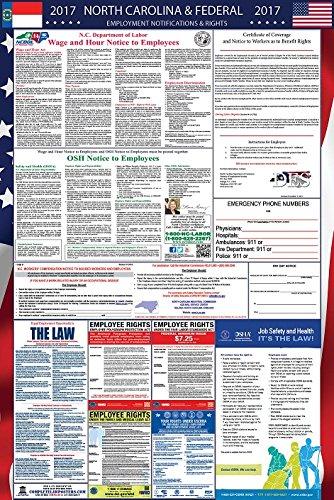2017 North Carolina and Federal Labor Law Poster