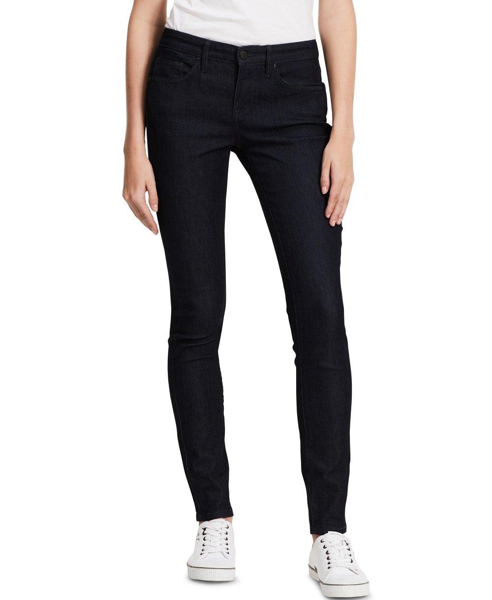 "Calvin Klein womens Curvy Skinny Jean, Rinse (77% Cotton/21% Polyester/2% Elastane), 4R 32"" Inseam"