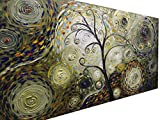 Asdam Art Paintings- 20X40 inch Hand-painted