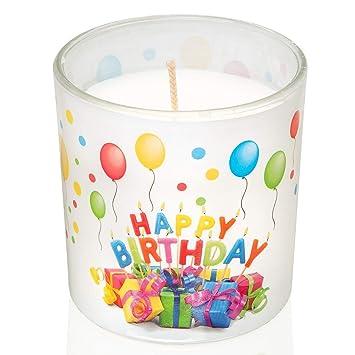 Smart Planet® - Velas de cumpleaños con Texto Happy Birthday ...