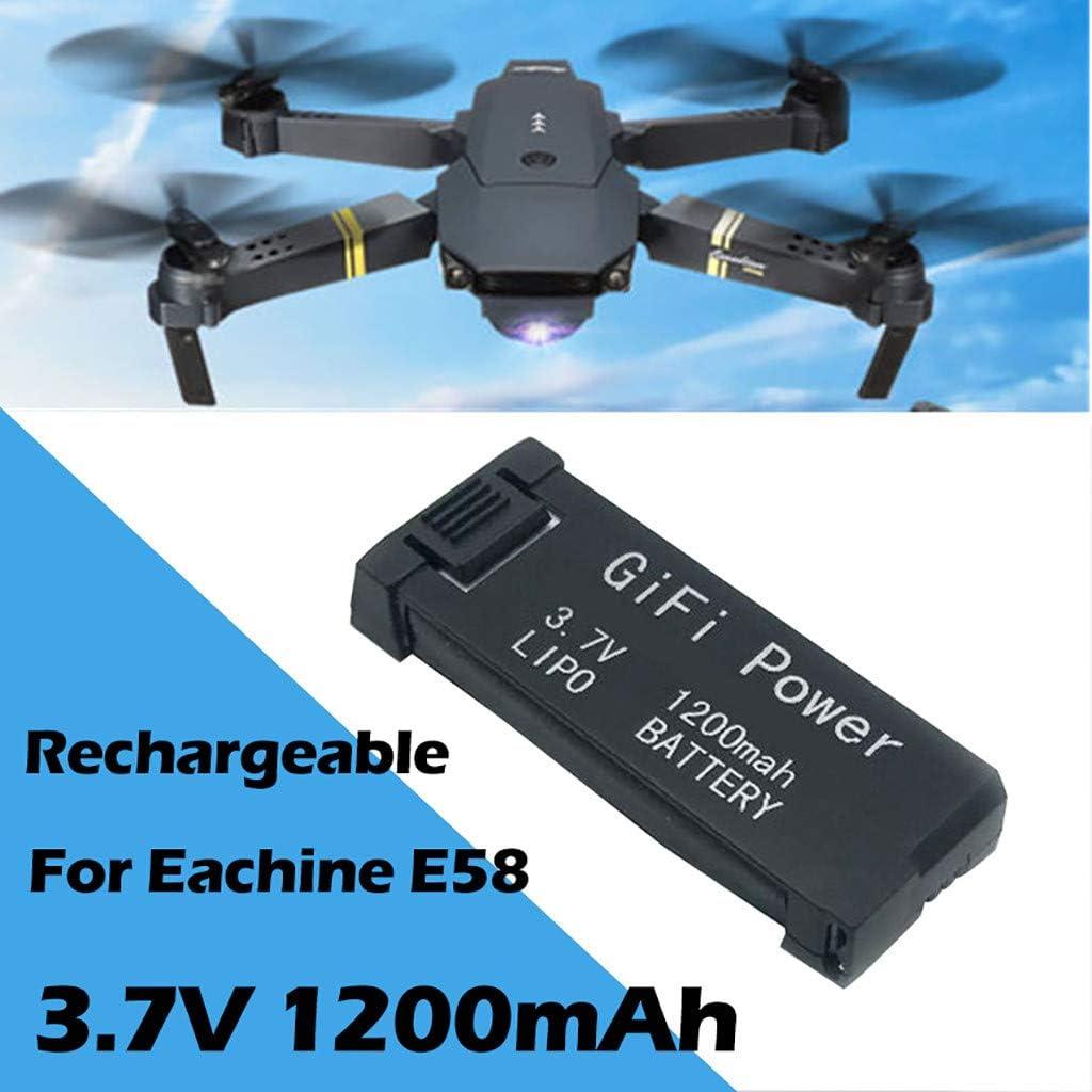 4pc x 1200mAh Battery for Eachine E58 Battery Big Capacity Batteries