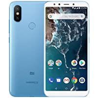 Xiaomi Mi A2 Lite dual Android 8.1 Tela 5.84 64GB Camera dupla 12+5MP - Azul