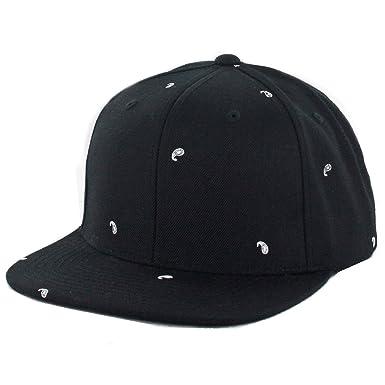 Image Unavailable. Image not available for. Colour  Black Scale  quot  Paisley II quot  Snapback Hat ... 544e9e482c4b