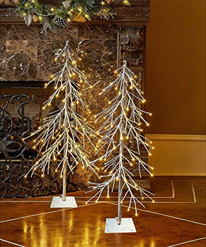 Lightshare Lighted Snow Fir Tree, Large by Lightshare (Image #1)