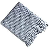 Brielle Winding Wave Throw, 50x60, Light Blue