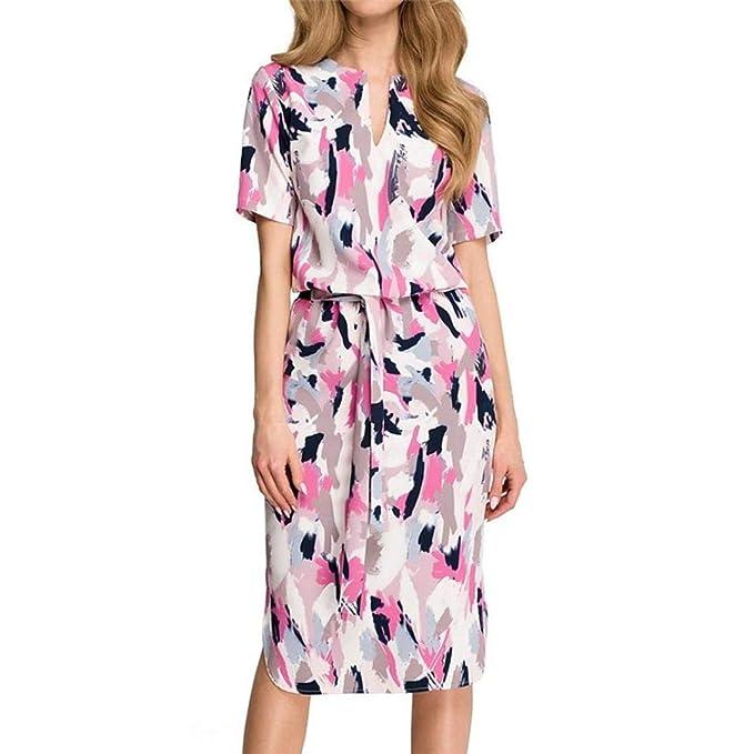 ABsolute Vestido Vendaje de Vestido para Mujer, Largo del Vendaje del Vestido con Cuello en