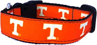 product image for NCAA Tennessee Volunteers Dog Collar (Team Color, Medium)