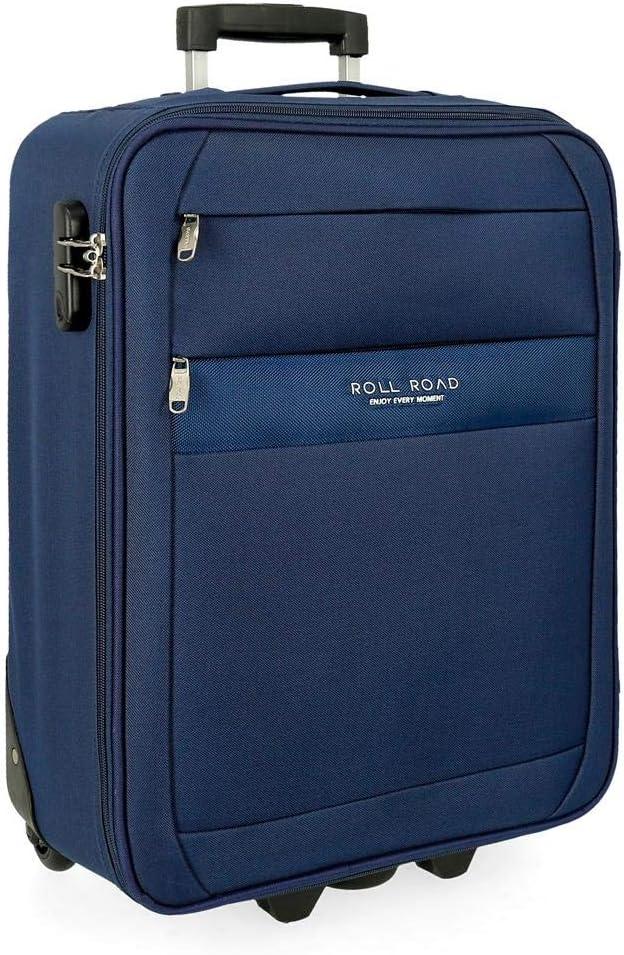 Maleta de cabina Roll Road Carter 55cm Azul