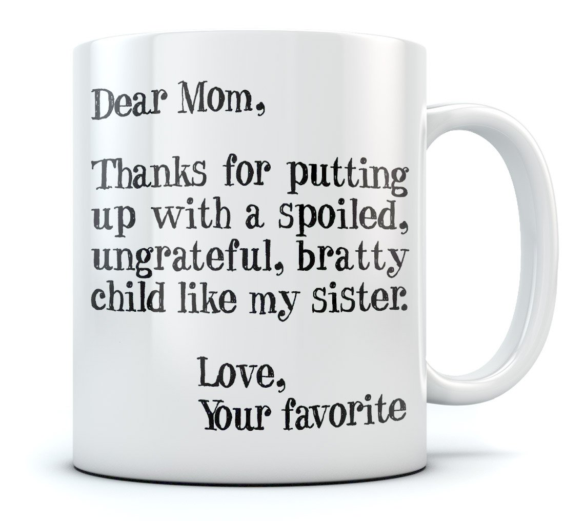 Amazon.com: Funny Mom Gift For Christmas/Mother\'s Day Ceramic Coffee ...