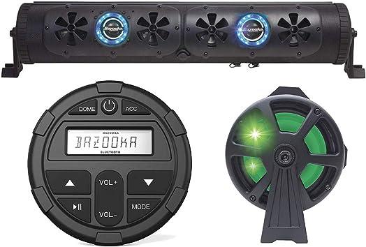 G2 24 Bluetooth Party Bar Off Road Sound Bar LED Single Sided Bazooka Controller