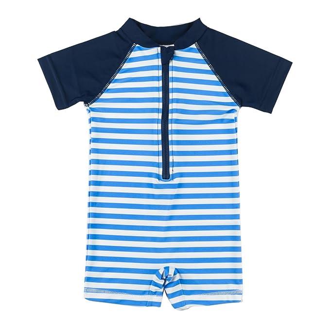 22d795a474 Kids Boy Girl Swimsuit One Piece Surfing Suits Beach Swimwear Rash Guard