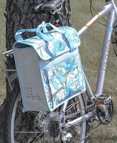 FASTRIDER SHOPPER PEONY Bike Pannier/Bag Sand 17.5L Water Resistant Single (Pannier Shopper)