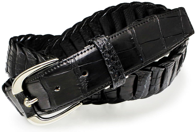 ベルト クロコダイル(本ワニ革) 製メンズベルト SJSK-CM1530[並行輸入品]  B079HCHR2T