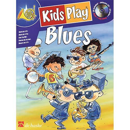 (Kids Play Blues (Horn) De Haske Play-Along Book Series Written by Klaas de Jong Pack of)