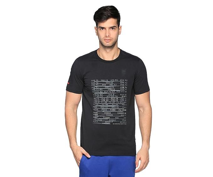abb52dd0f Puma Playera Puma-Ferrari Graphic Tee Playera para Hombre Negro Talla M