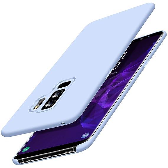 18e0d58c344d Galaxy S9+ Plus Case, TORRAS Love Series Slim Fit Thin Liquid Silicone Soft  Rubber Shockproof