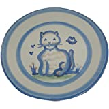 Plate 9 Inches, Cat Pattern