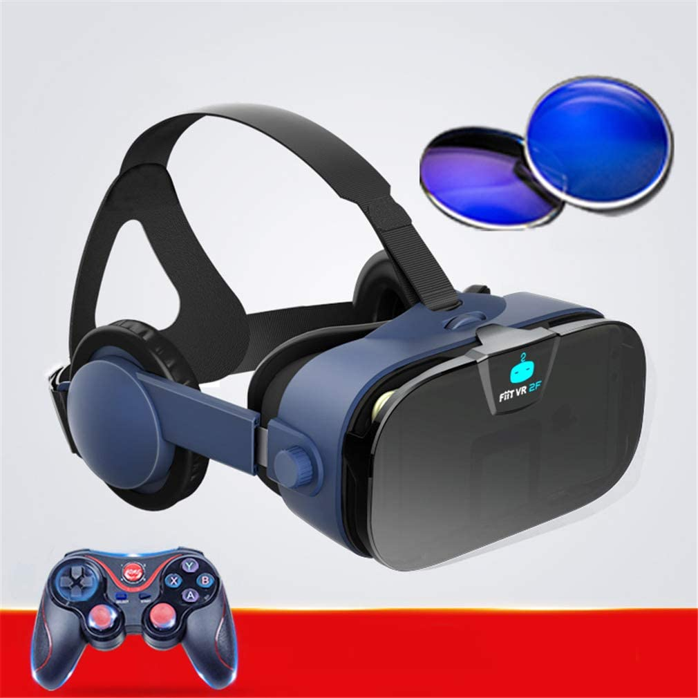 FSM88 Casco De Realidad Virtual con Mando A Distancia, Sistema De ...