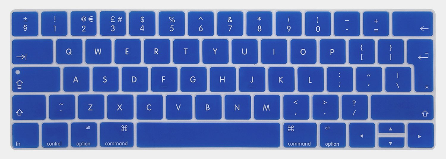 Touch Bar//No Touch Bar version A1706//A1708//A1989 Keyboard Cover Deep Blue Se7enline 2016 2017 2018 Macbook Pro Case 2 in 1 Bundle Soft-Touch Plastic Hard Case Cover Compatible Macbook Pro 13 inch