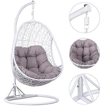 Surprising Amazon Com Jykj Outdoor Hanging Chair Hanging Rattan Swing Machost Co Dining Chair Design Ideas Machostcouk